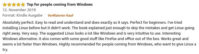 Feedback 5 out of 5 Stars